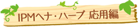 IPMヘナ・ハーブ 応用編