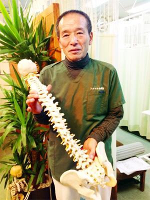 アルケル治療院院長 新津幸弥先生