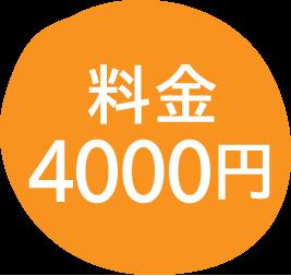 料金4000円