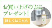 「森のなかま(松の樹液)」100mlと泡立てポンプ(小)をプレゼント!